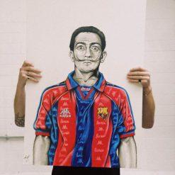 Salvador Dali Barcelona Art