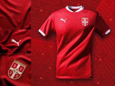 Prima maglia Serbia 2020-2021