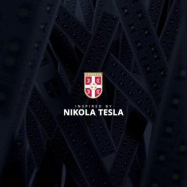 Grafica maglie Serbia 2020-2021