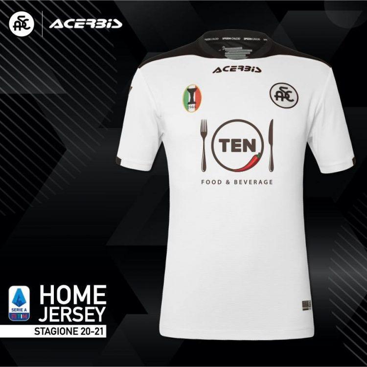 Maglia Spezia 2020-2021 Serie A