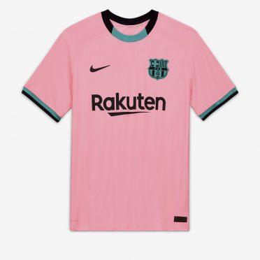 Terza maglia Barcellona rosa 2020-21