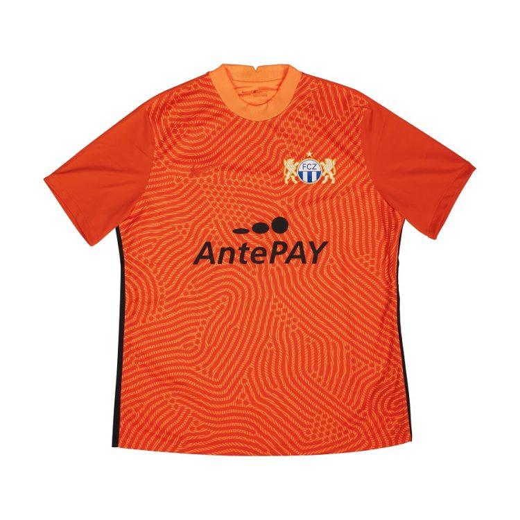 zurigo maglia portiere arancione 2020-2021