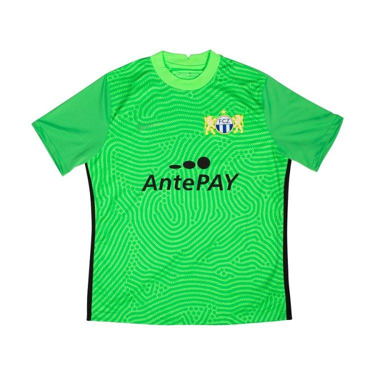 zurigo maglia portiere verde 2020-2021
