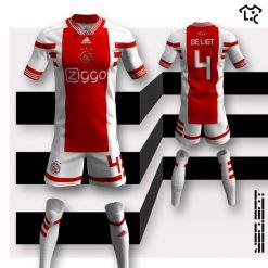 Ajax home Adidas NEOEqt