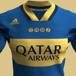 Boca Juniors dettagli Adidas NEOEqt