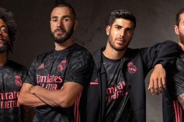 Real Madrid terza maglia 2020-2021 Adidas