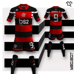Flamengo home Adidas NEOEqt