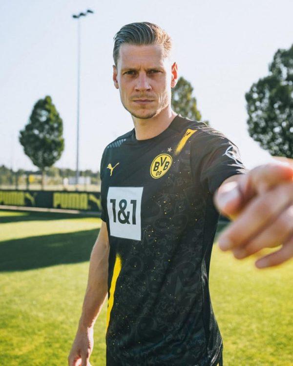 Maglia Borussia Dortmund away nera