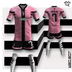 Juventus away Adidas NEOEqt