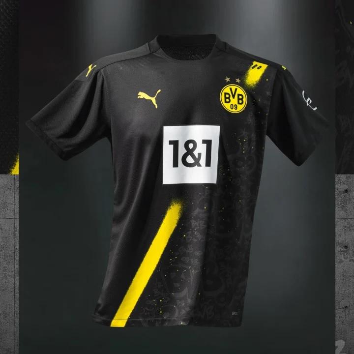 Borussia Dortmund maglia nera Street Art Puma