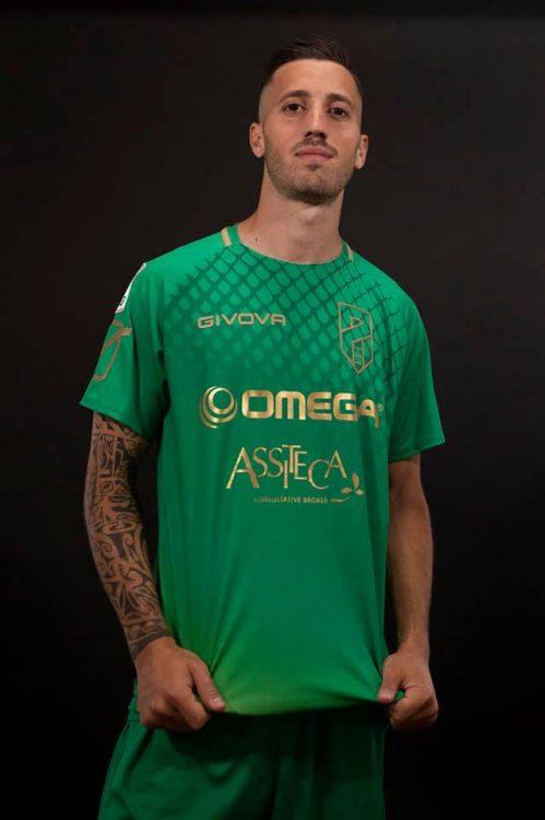 Terza maglia Pordenone 2020-2021 verde