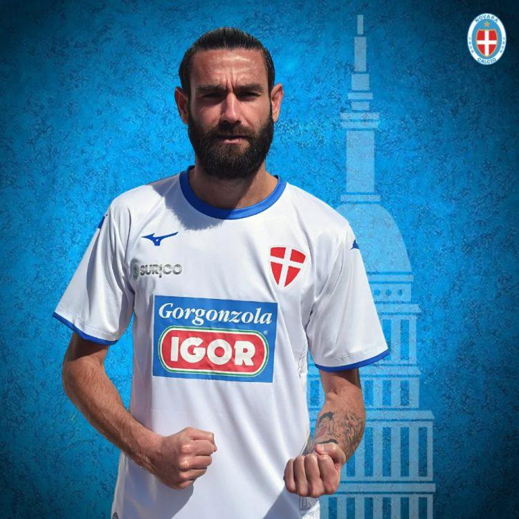 Seconda maglia Novara 2020-2021 bianca