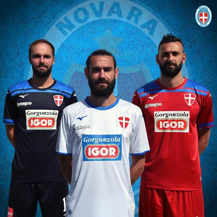 Divise Novara Calcio 2020-2021