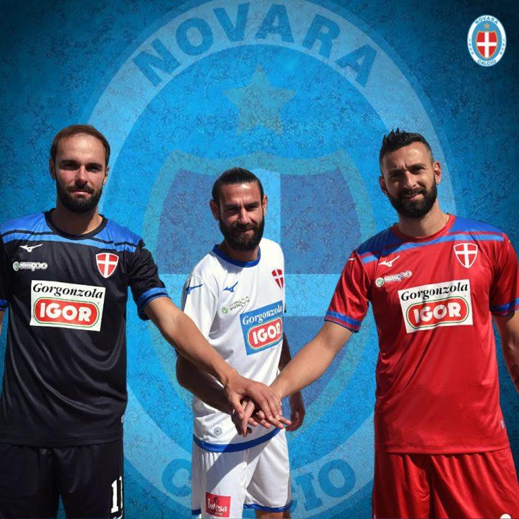 Kit Novara Calcio 2020-2021