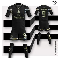 Real Madrid away Adidas NEOEqt