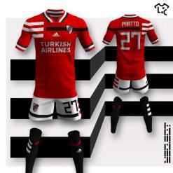 River Plate away Adidas NEOEqt
