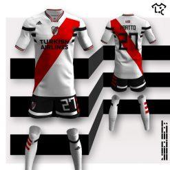 River Plate home Adidas NEOEqt