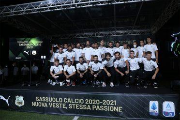 Presentazione squadra Sassuolo 2020-2021