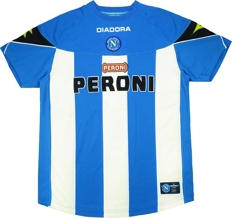 Maglia Napoli 2002-2003 Diadora