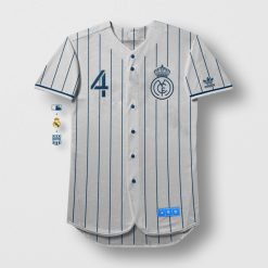 Real Madrid Baseball Shirt MLB