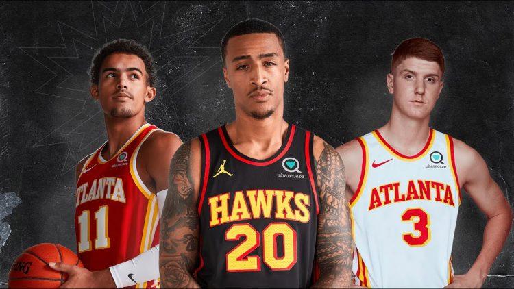 Canotte Atlanta Hawks 2020-2021 NBA
