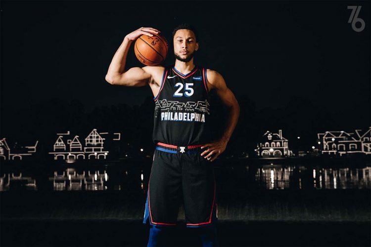 Canotta Philadelphia 76ers 2020-21 NBA City Edition