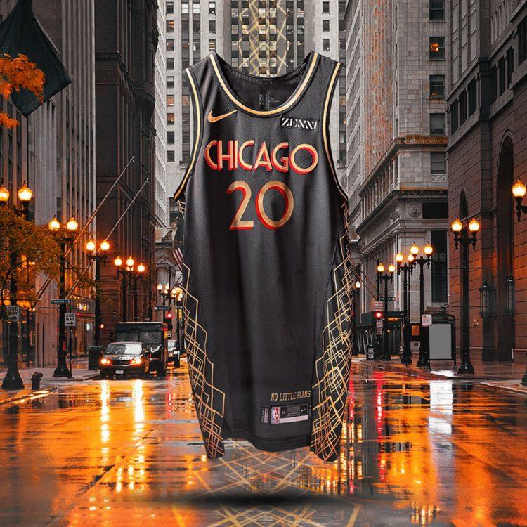 Canotta Chicago Bulls 2020-21 NBA City Edition