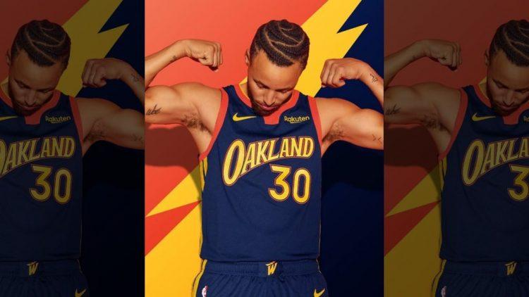 Maglia Golden State Warriors 2020-21 NBA City Edition