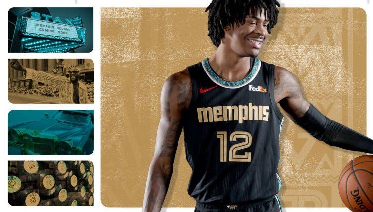 Maglia Memphis Grizzlies 2020-21 NBA City Edition