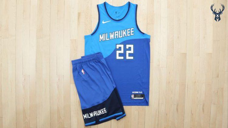 Canotta Milwaukee Bucks 2020-21 NBA City Edition