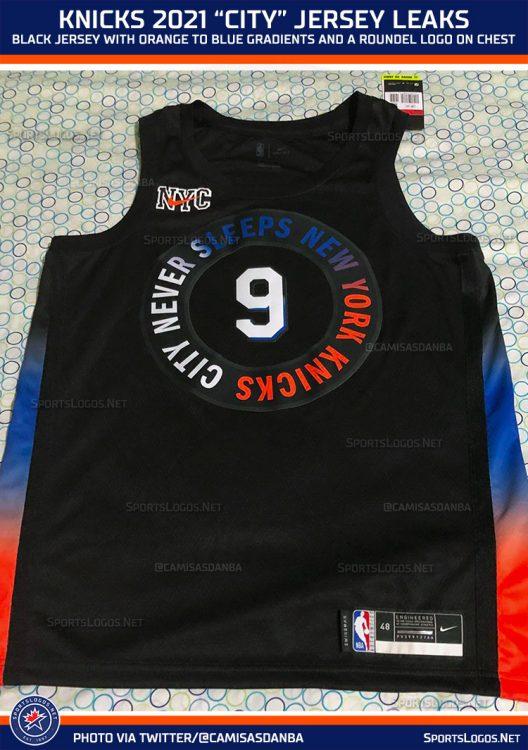 Maglia New York Knicks 2020-21 NBA City Edition