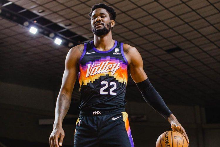Maglia Phoenix Suns 2020-21 NBA City Edition