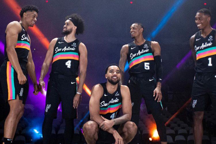 Canotta San Antonio Spurs 2020-21 NBA City Edition
