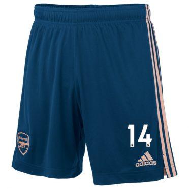 Pantaloncini Arsenal blu terza divisa