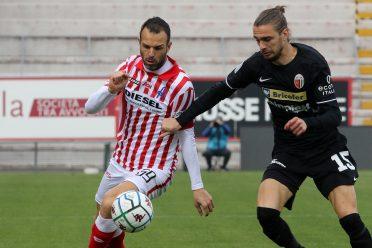 Ascoli divisa nera away 2020-21
