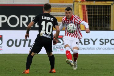 Ascoli divisa nera away 2020-21 retro