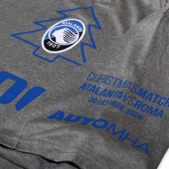 Scritta manica Natale maglia Atalanta 2020