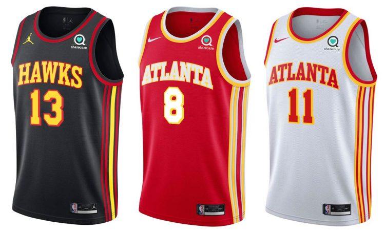 Atlanta Hawks canotte 2020-2021