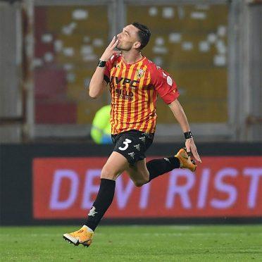 Divisa Benevento home 2020-2021 Kappa