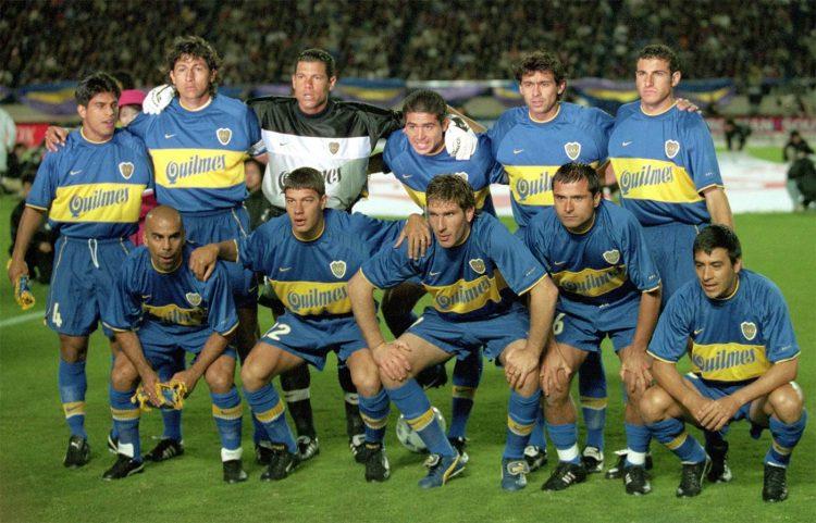 Formazione Boca Juniors 2000 campione del mondo
