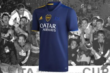 Quarta maglia Boca Juniors celebrativa