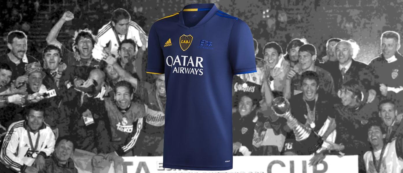 Quarta maglia Boca Juniors celebrativa