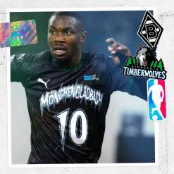 Borussia Minnesota Timberwolves Graphic UNTD