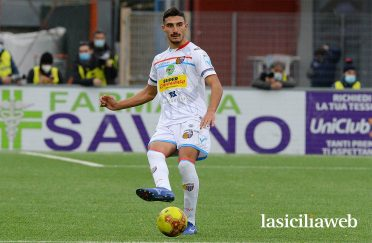 Seconda maglia Catania 2020-21 bianca