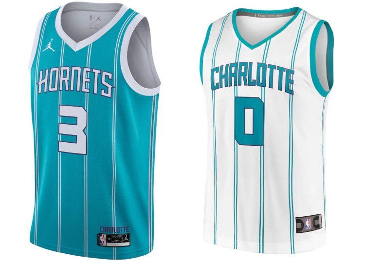 Charlotte Hornets canotte 2020-2021