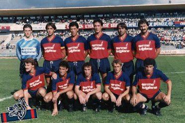 Formazione Cosenza 1987-1988