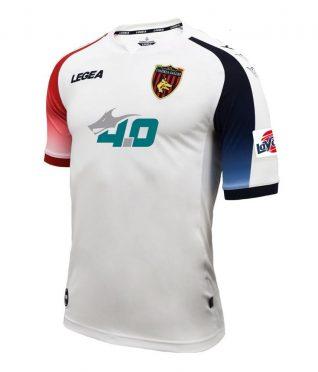 Seconda maglia Cosenza bianca 2020-21
