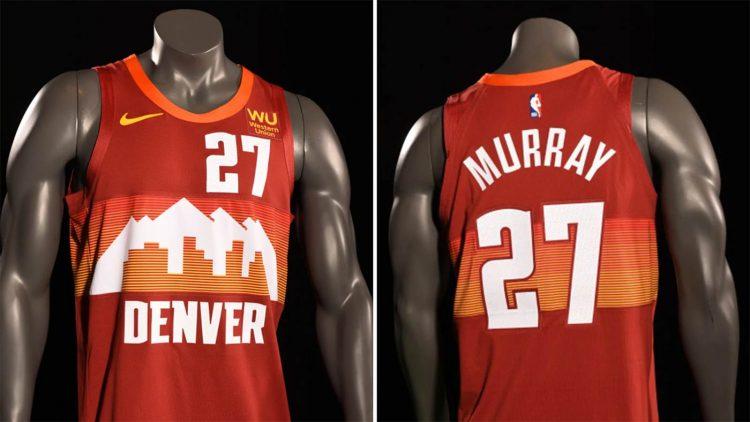 Maglia Denver Nuggets 2020-21 NBA City Edition