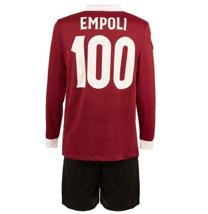 Retro maglia Empoli 100 anni colore vinaccia