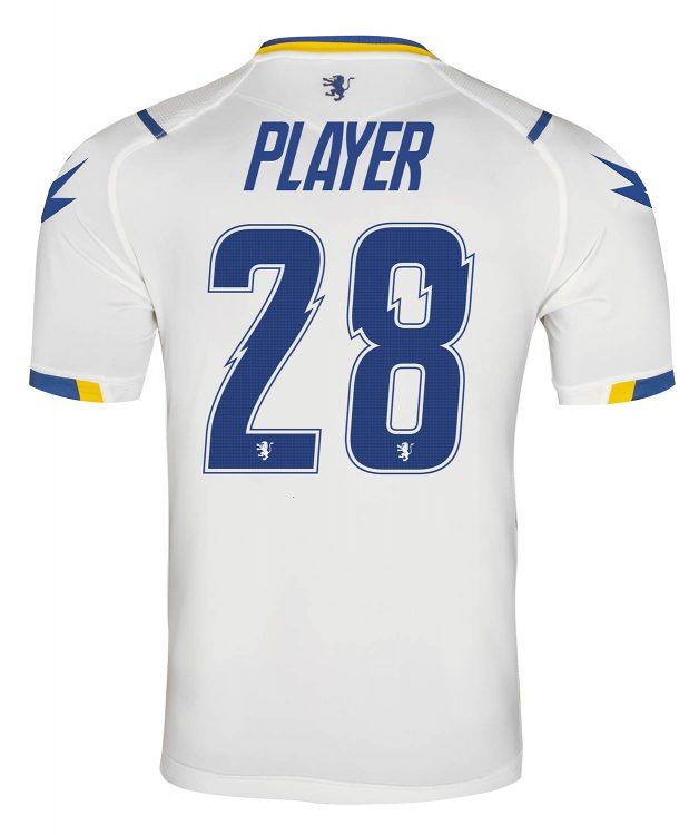 Seconda maglia Frosinone 2020-2021 bianca